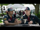 Carlos Sainz And Dany Kvyat - Grill The Grid 2017