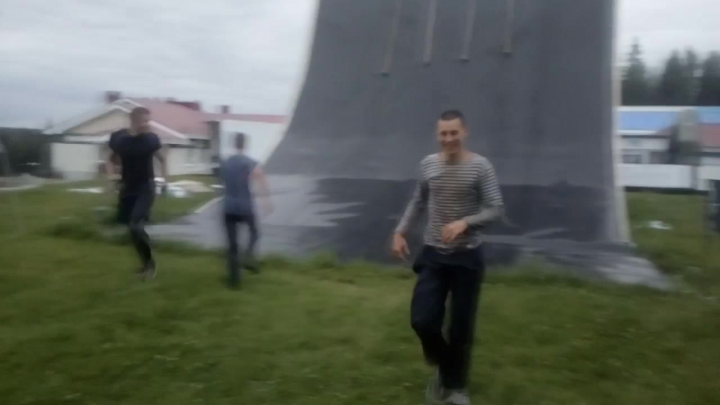 2 сентября Гора Белая тест трассы гонки героев