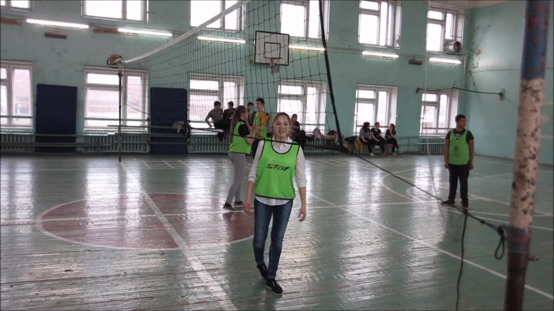 Волейбол апрель 2017г. МОУ СОШ РЦО