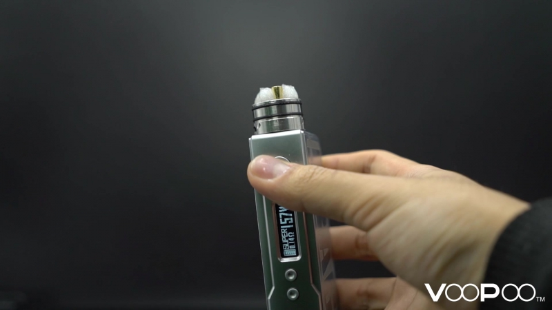 Super Drag mod for both vape trickers and cloud chasers