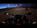 Drag BMW F800 vs Honda CBR600F4
