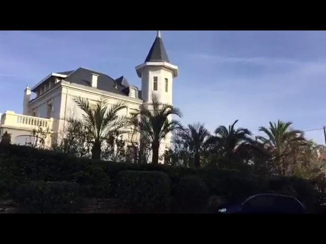 Дом дочери Путина в городе Биарриц(Франция).