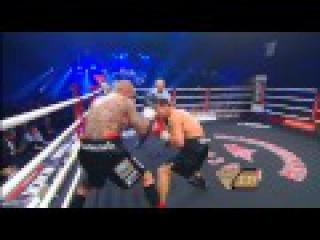 Бокс Дмитрий Чудинов-быкует) & Патрик Нильсен- показал игровой бокс 2.06.2014г  1- 4 раунды