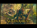 Massive Skaven Ambush vs Dark Elf Raiding Party - Warhammer BOTET Total War