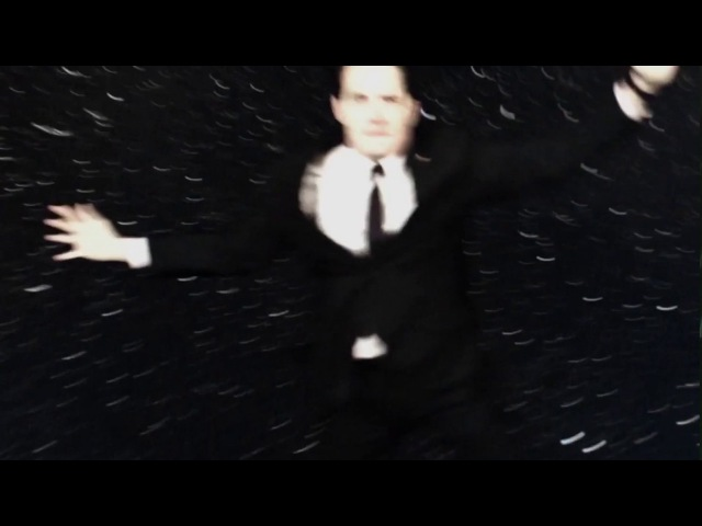 Agent Dale Cooper does amazing dive (Shooting Stars)