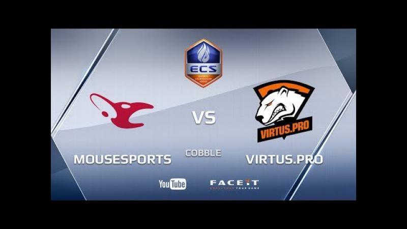 Mousesports vs Virtus.pro, cobblestone, ECS Season 4 Europe