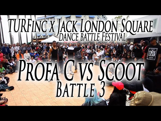 Profa C vs Scoot | TURFinc x Jack London Square Dance Battle Festival | Oakland Ca