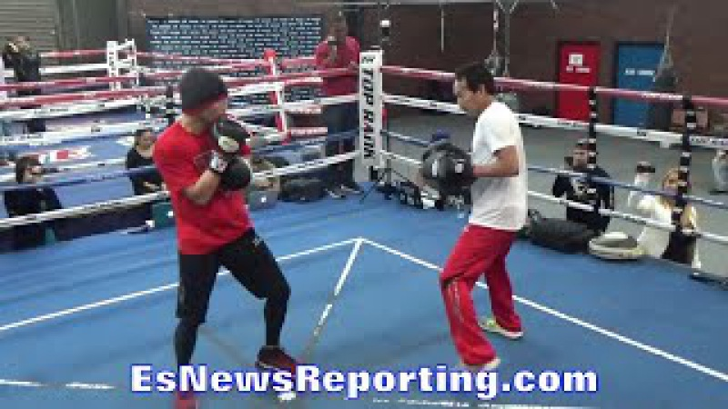 Nonito Donaire MOVES LIKE Mike Tyson, Pacquiao Mayweather - EsNews Boxing