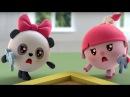Малышарики - Обучающий мультик для малышей - Все серии подряд - про Нюшеньку и Па