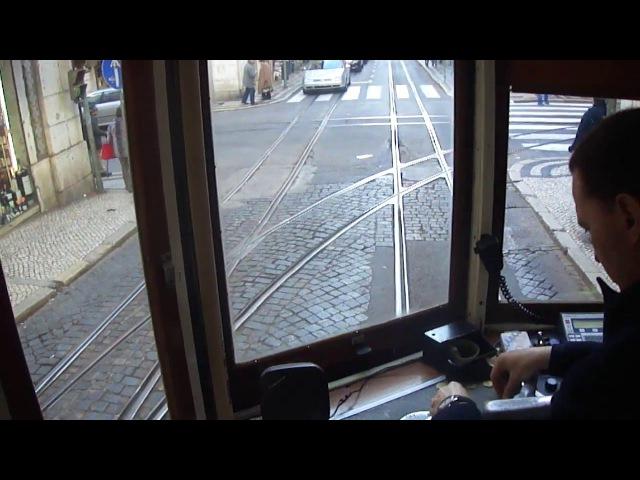 Лиссабонский трамвай 28 маршрута