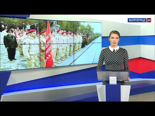 Мемориалу «Героям Сталинградской битвы» на Мамаевом кургане - 50 лет.