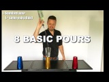 Flair bartending instruction video 3 8 Basic Pours