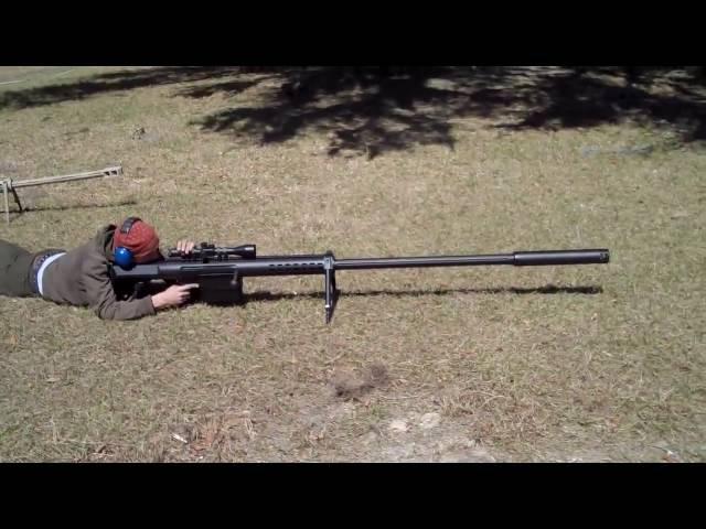 Самая мощная винтовка в мире! 20 мм