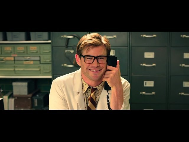 Ghostbusters 2016 Chris Hemsworth Funny Scenes