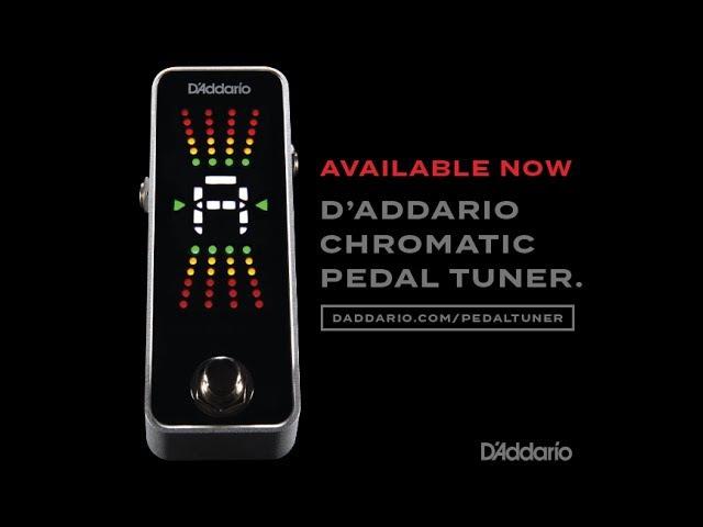 D'Addario Accessories: Chromatic Pedal Tuner