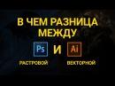 Фотошоп и Иллюстратор разница. Отличие между векторной и растровой графикой.Photoshop и Illustrator.
