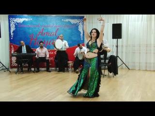 Ksenia Kulichikhina (Assal) bellydancer, nebtedy mneen el hakaya 2nd place