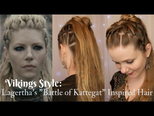 Viking Style Lagerthas Kattegat Inspired Hair