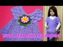 Blusa tejida a crochet para niñas de 3 a 5 años en punto pavo real paso a paso TODAS LAS TALLAS