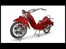 Megola - Авиационный двигатель в колесе мотоцикла