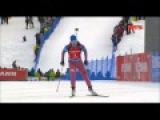 Биатлон гонка преследования женщины  Юрлова золото 23 01 2016