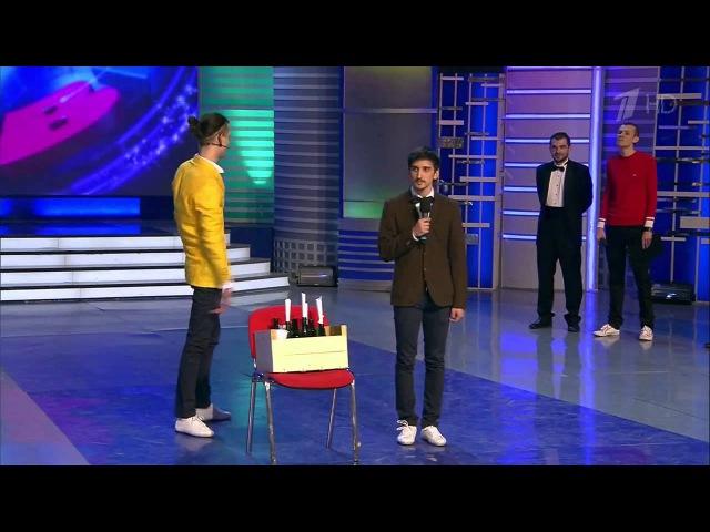КВН 2014 Высшая лига Вторая 1 4 финала ДАЛС Конкурс капитанов