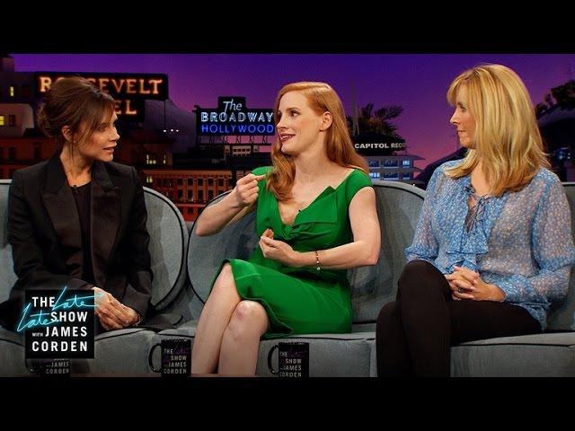 Childhood Crushes w Jessica Chastain Lisa Kudrow Victoria Beckham