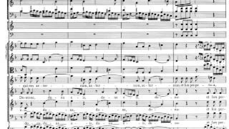 Mozart. Requiem. Introitus. Partitura y Análisis Musical.