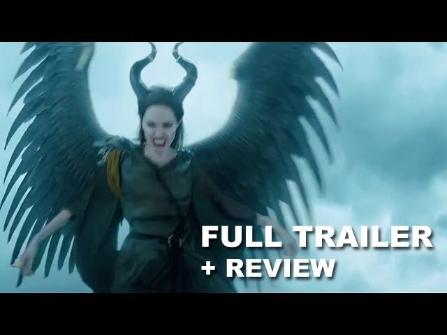Maleficent 2014 Wings Trailer Trailer Review : Angelina Jolie - HD PLUS