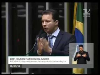 Deputado Nelson Marchezan esculacha Dilma e Lula