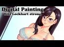 Digital Painting - Tifa Lockhart strong fanart