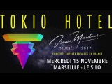 Tokio Hotel Video Message for Marseille and Nancy Shows - Cologne Film Festival 05.10.2017
