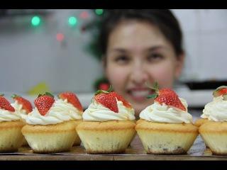 Как сделать капкейки (cup cake): видео-рецепт, всего за 35 минут