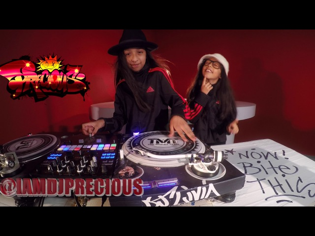 DJ Livia DJ Precious Breakdance DJ