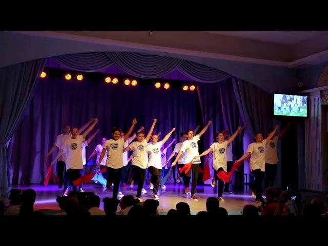ФМИ 2017 Алые паруса Массовый вожатский танец
