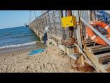 Прогулка по пляжу Витязево в поисках тины на Черном Море 22.07.2016