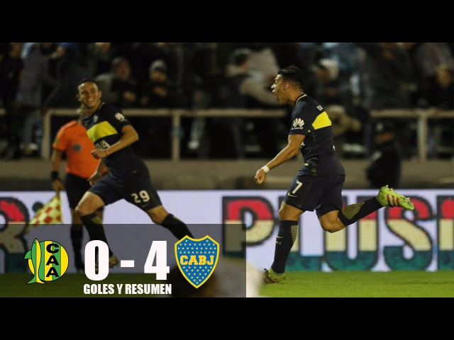 Aldosivi vs Boca Juniors 0-4