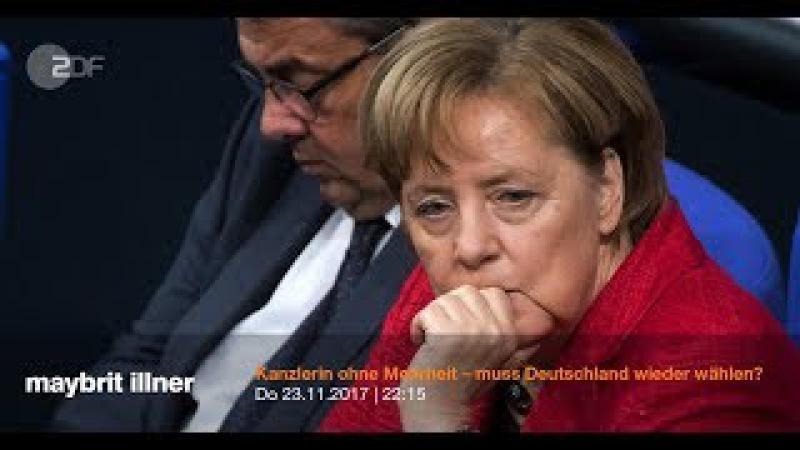 Mitreden: Kanzlerin ohne Mehrheit – muss Deutschland wieder wählen?