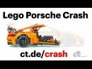 LEGO-Porsche Crash-Test in Slow-Motion