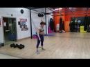 Юлия Зауголова - рывок гантели 30 кг на 10, с шутками и улыбками:)
