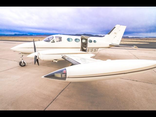 Cessna 414 For Sale - In-Flight