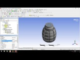 Tutorial Explicit Dynamics in Ansys 18 - Explosion grenade (Part 2)