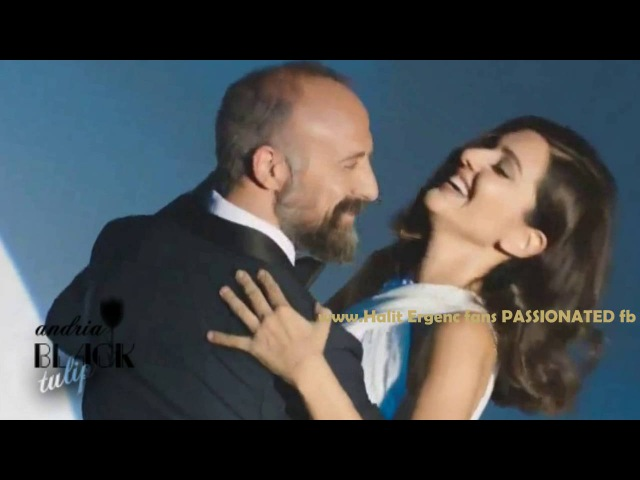 Halit Ergenc and Berguzar Korel are dancing- GIFT CREATION -Halit is singing ''Sway with me...''
