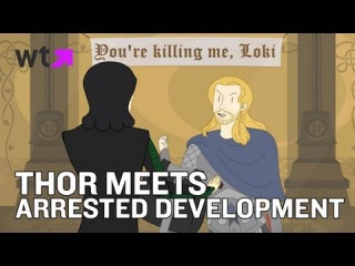 The Mighty Thor Joins Arrested Development | What's Trending Now