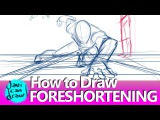 THE SECRET FOR DRAWING FORESHORTENING IS PERSPECTIVE!