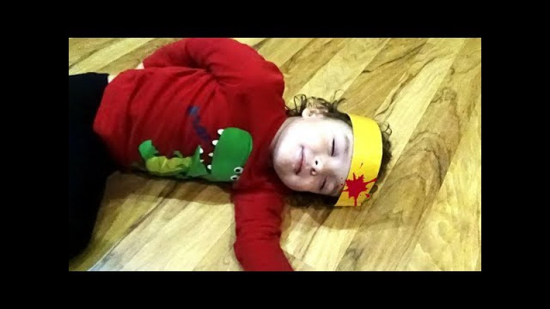 Bad babies playing Doctor toys Family Fun*Сrying Babies! Accident! Learn Colors With bandage