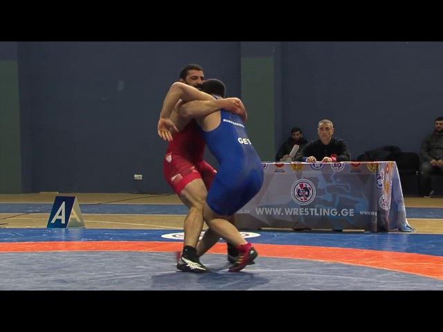 Greco-Roman Wrestling Georgian Championship 2017 1st Day Highlights