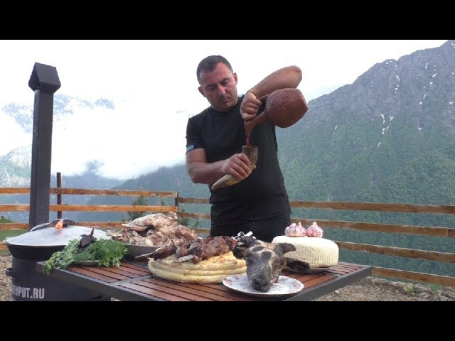 ЕДА ГОРЦА на Кавказе