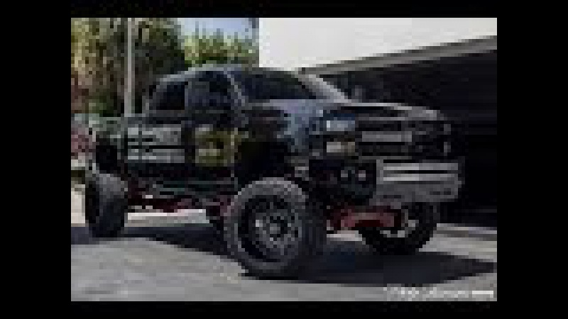 Crazy off road MONSTER 2015 Chevrolet Silverado 2500HD High Country Duramax