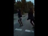 Танцы на светофоре?????